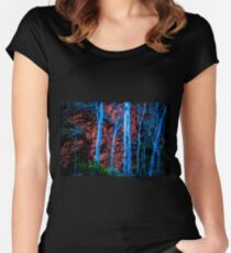 Ghostly Gums Women's Fitted Scoop T-Shirt