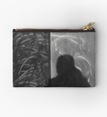 Shadow in Brushed Steel Studio Pouch