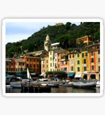 Colourful Portofino Sticker