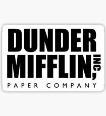 Dunder Mifflin sticker Sticker