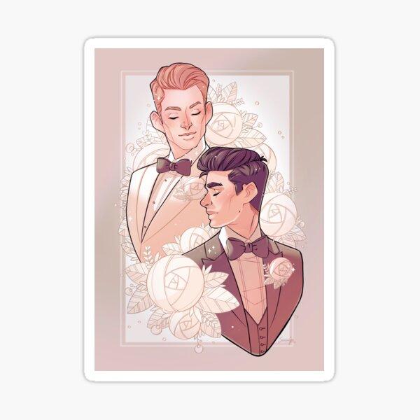 Cloches de mariage Sticker