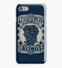 Phrenology of a detective - Sherlock iPhone Case/Skin