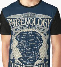 Phrenology of a detective - Sherlock Graphic T-Shirt