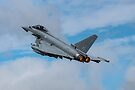 Typhoon take off, RIAT Fairford, England by Cliff Williams