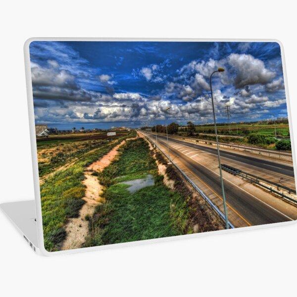 a majestic springtime in Israel Laptop Skin
