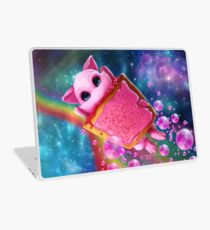 Rainbow Pop Tart Space Mew Laptop Skin
