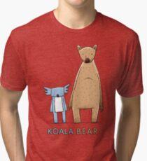 Cute Koala Bear Tri-blend T-Shirt