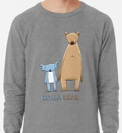Cute Koala Bear Lightweight Sweatshirt