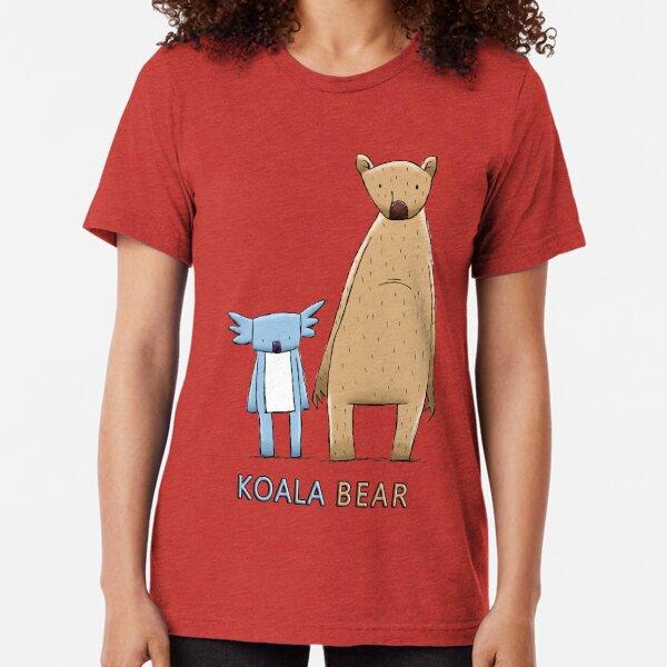 Lindo oso koala Camiseta de tejido mixto