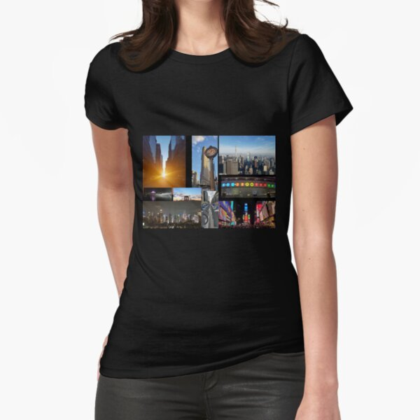 Celebrate New York City Fitted T-Shirt