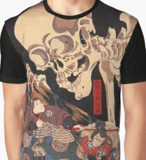 Mitsukuni defying the skeleton spectre Graphic T-Shirt