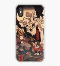 Mitsukuni defying the skeleton spectre iPhone Case