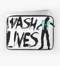 Wash Lives Laptop Sleeve