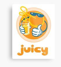 Juicy Orange! Metal Print