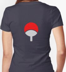 uchiha Women's Fitted V-Neck T-Shirt