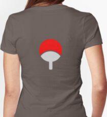 uchiha Womens Fitted T-Shirt