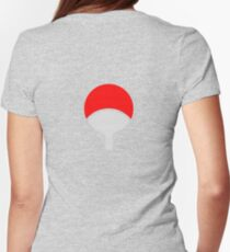 uchiha Womens Fitted T-Shirt