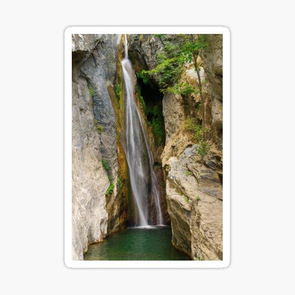 Corsica waterfall Sticker