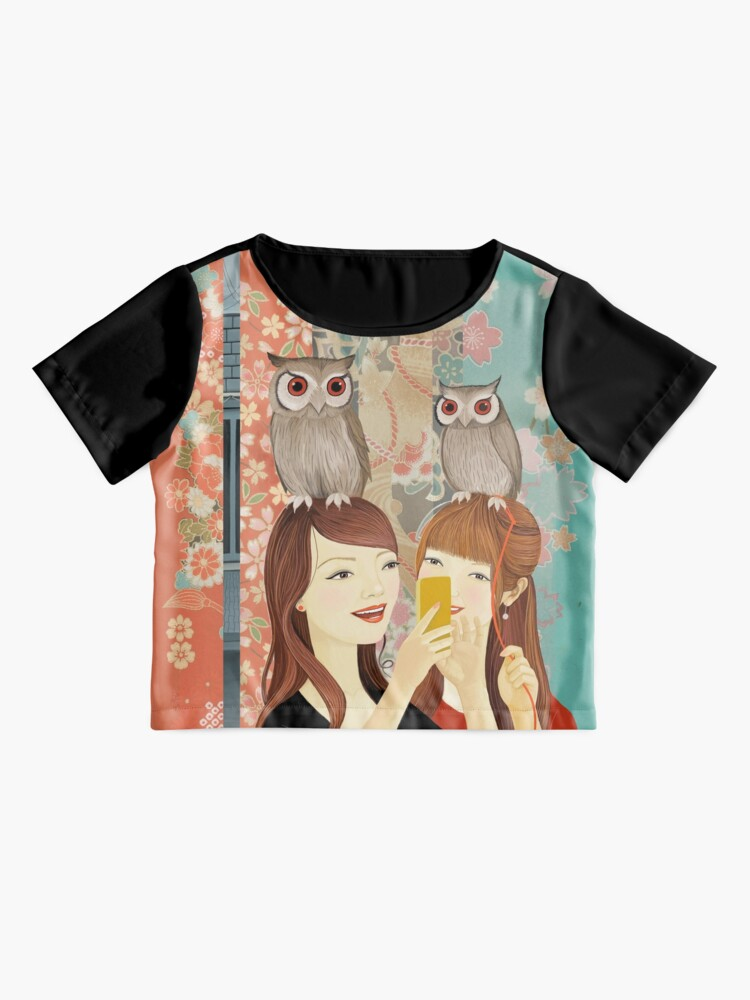 Alternate view of The Owl Cafe Chiffon Top