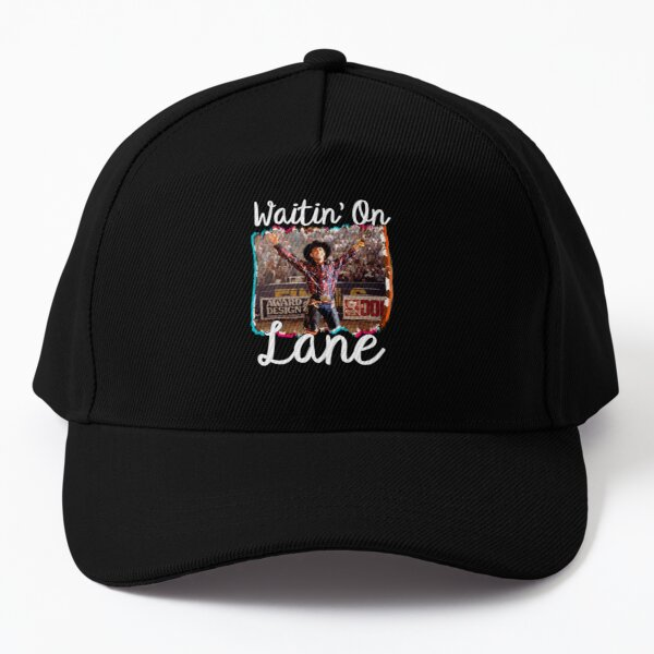 Waitin on lane funny cute 8 seconds cowboy cowgirl rodeo bull rider riding frost movie gift country  Baseball Cap