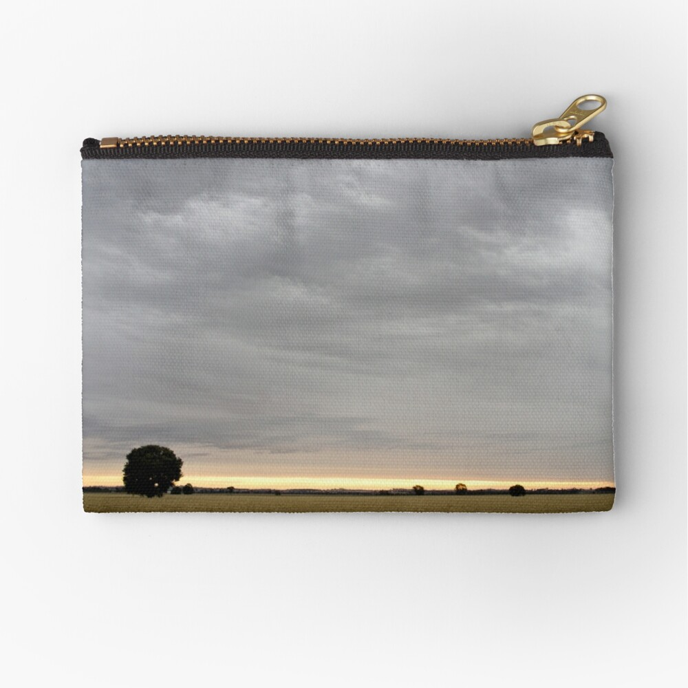 Last light of Sunset - Parkes - NSW - Australia Zipper Pouch