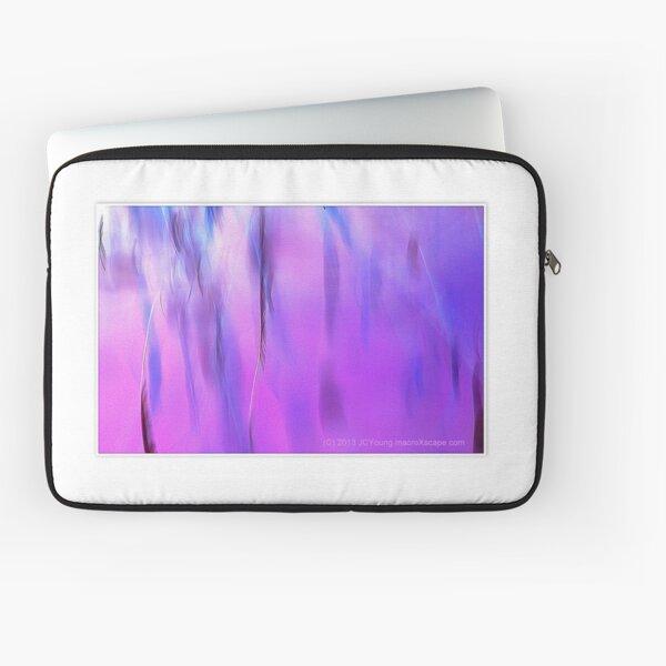 Purple Rain out the Window Laptop Sleeve