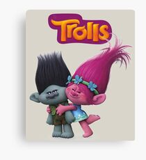 trolls Canvas Print