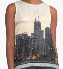 Chicago Skyline Contrast Tank