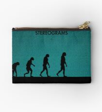 99 Steps of Progress - Stereograms Studio Pouch