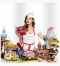 Old Dominion Meat and Candy Poster