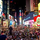 Times Square New York by Colin White