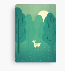 Goat forest Canvas Print