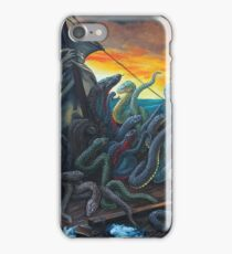 Raft of Reptile Rescue after Gericault iPhone Case/Skin