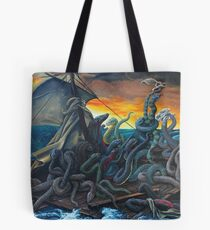 Raft of Reptile Rescue after Gericault Tote Bag