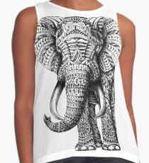 Ornate Elephant Contrast Tank