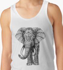Ornate Elephant Tank Top
