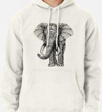 Verzierter Elefant Hoodie