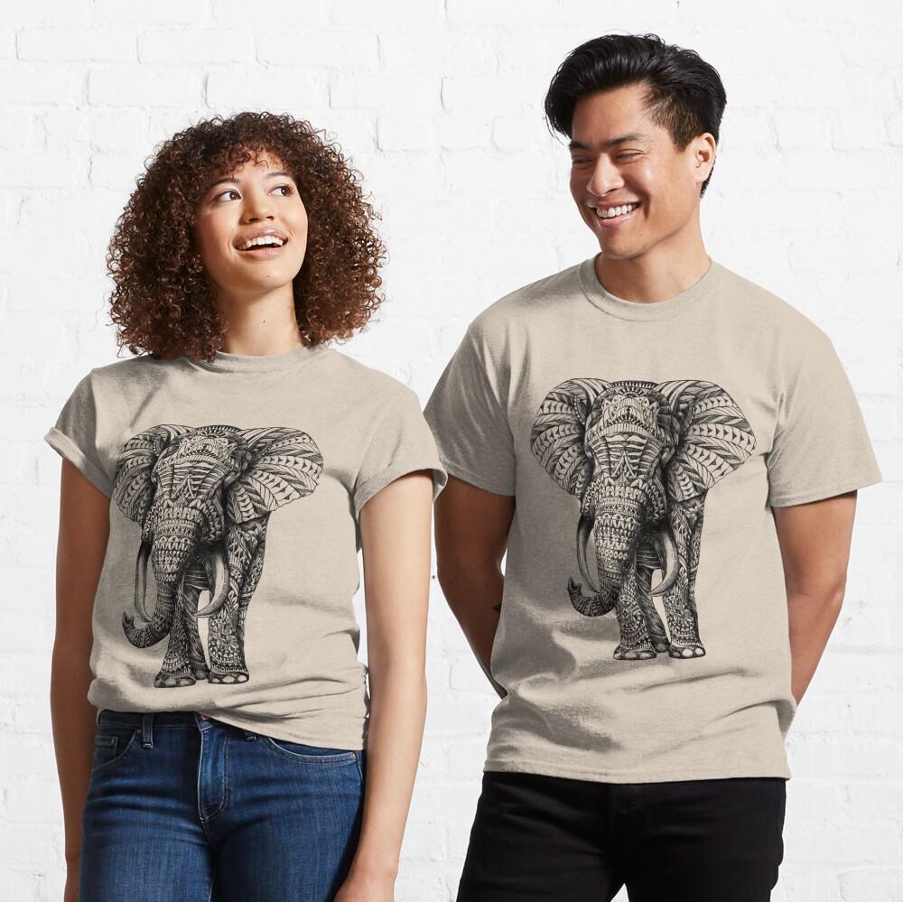 Ornate Elephant Classic T-Shirt