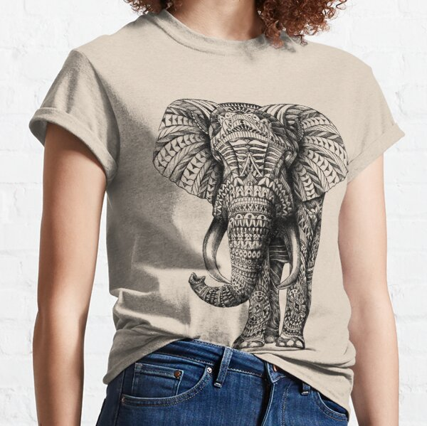 Ornate Elephant Classic T-Shirt