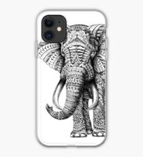 Verzierter Elefant iPhone-Hülle & Cover