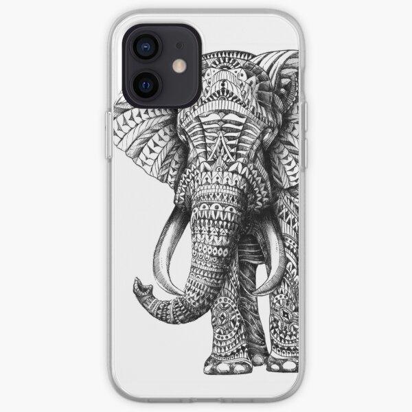 Ornate Elephant iPhone Soft Case