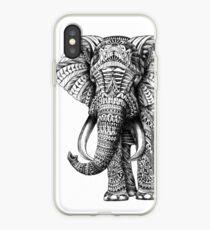 Éléphant orné Coque et skin iPhone