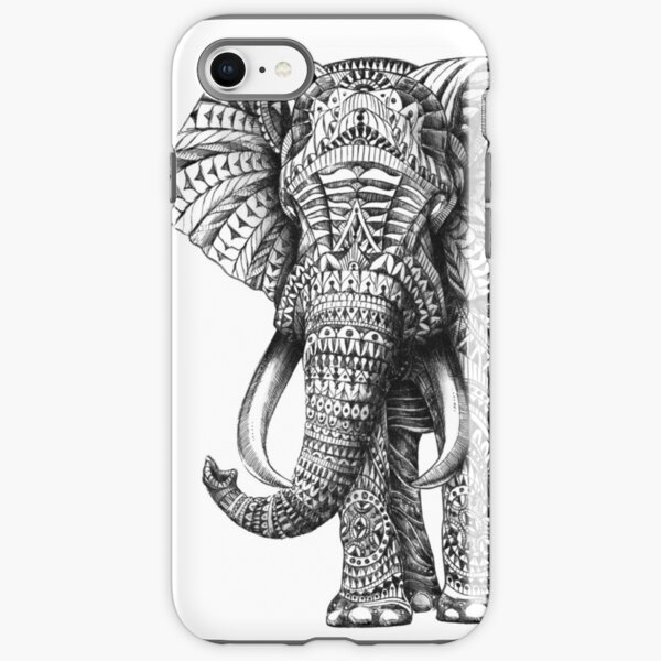 Ornate Elephant iPhone Tough Case