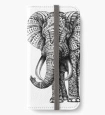 Ornate Elephant iPhone Wallet/Case/Skin