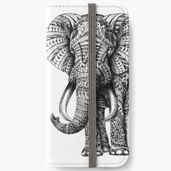 Ornate Elephant iPhone Wallet