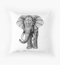 Verzierter Elefant Dekokissen