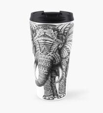 Ornate Elephant Travel Mug