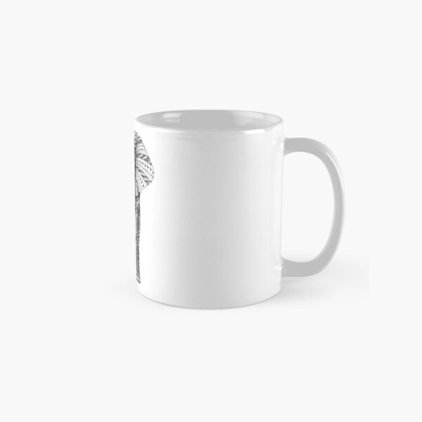 Ornate Elephant Classic Mug