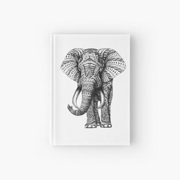 Ornate Elephant Hardcover Journal