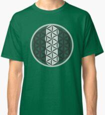 Sacred Geometry: Flower Of Life - Sacred Duality (Green) Classic T-Shirt